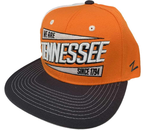 "Tennessee Volunteers Zephyr ""We are Tennessee Since 1974"" Adj. Flat Bill Hat Cap"