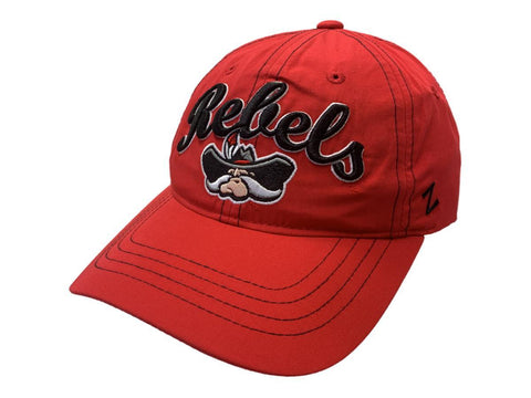 254463bd2c7ac UNLV Rebels Zephyr WOMEN S Red Lightweight Adjustable Strap Slouch Hat Cap