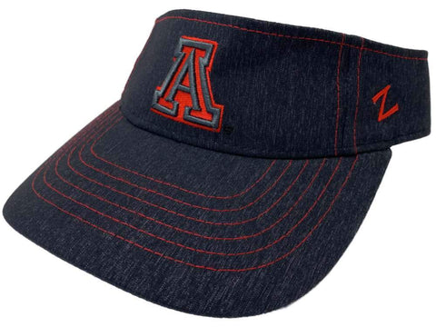 Arizona Wildcats Zephyr Dark Denim Adjustable Strap Golf Visor Hat Cap