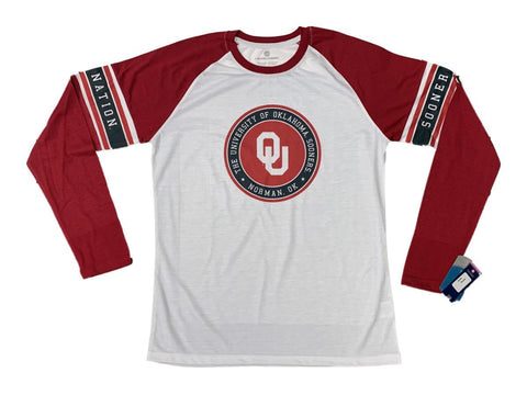 Oklahoma Sooners Levelwear WOMEN'S Lightweight Polyester Long Sleeve T-Shirt (L)