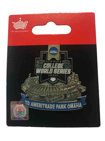 2019 Men's College World Series CWS Aminco TD Ameritrade Park Omaha Lapel Pin