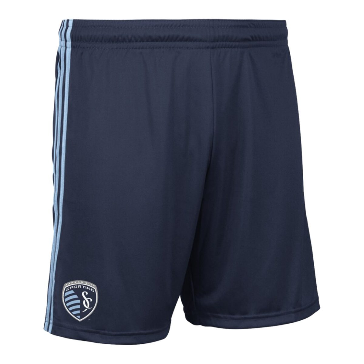 Sporting Kc Kansas City Mls Adidas Navy Climalite Athletic Replica Shorts