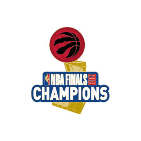 Toronto Raptors 2019 NBA Finals Champions WinCraft Team Colors Metal Lapel Pin