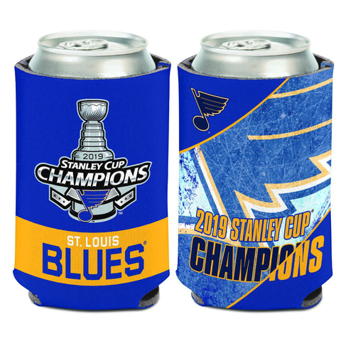 St. Louis Blues 2019 Stanley Cup Champions WinCraft Team Colors Drink Can Cooler