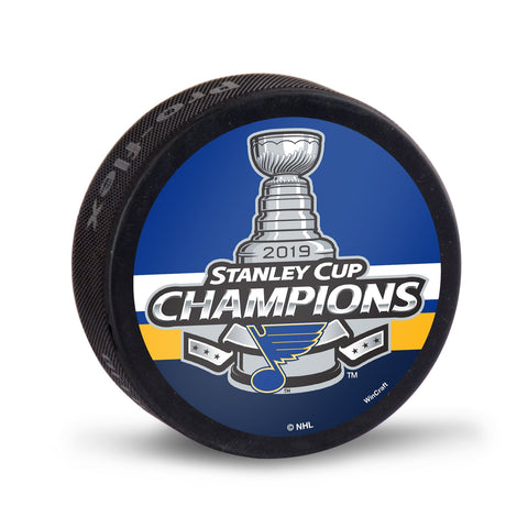 St. Louis Blues 2019 Stanley Cup Champions WinCraft Replica Hockey Puck