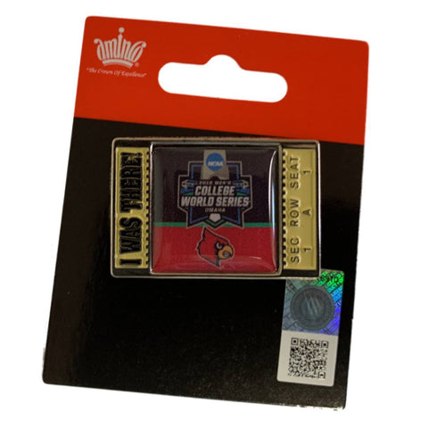 "Louisville Cardinals 2019 NCAA Men's College World Series CWS ""I WAS THERE"" Pin"