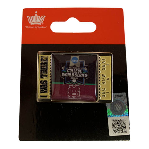 "Mississippi State Bulldogs 2019 Men's College World Series CWS ""I WAS THERE"" Pin"
