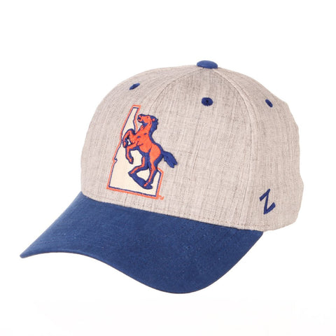 "Boise State Broncos Zephyr ""Oxford"" Structured Stretch Fit Fitted Hat Cap"