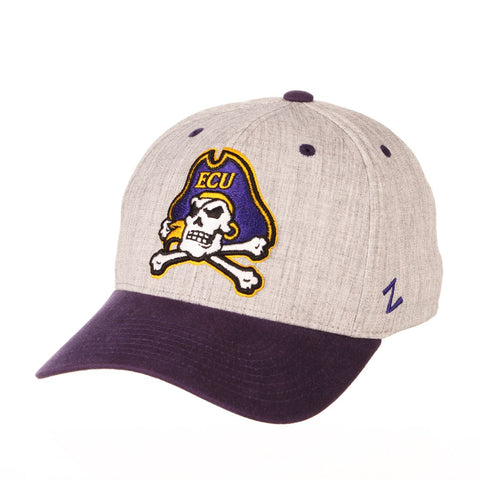 "East Carolina Pirates Zephyr ""Oxford"" Structured Stretch Fit Fitted Hat Cap"