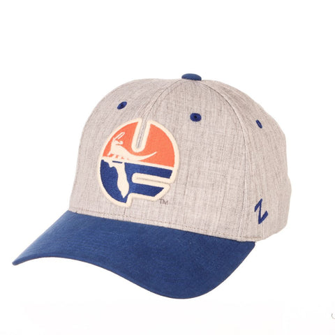 "Florida Gators Zephyr ""Oxford"" Structured Stretch Fit Fitted Hat Cap"