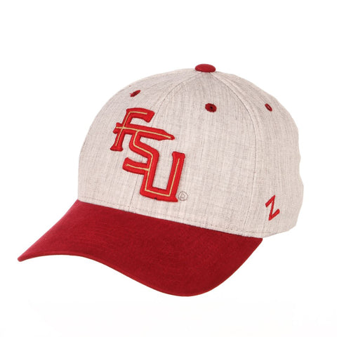 Florida State Seminoles Zephyr Oxford Structured Stretch Fit Fitted Hat Cap