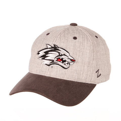 "New Mexico Lobos Zephyr ""Oxford"" Structured Stretch Fit Fitted Hat Cap"