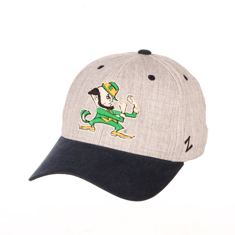 "Shop Notre Dame Fighting Irish Zephyr ""Oxford"" Structured Stretch Fit Fitted Hat Cap"