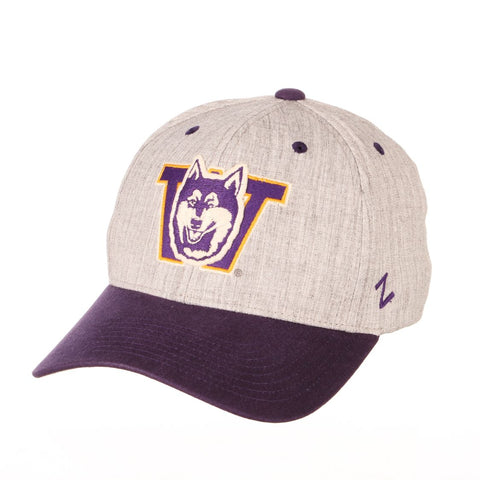 "Washington Huskies Zephyr ""Oxford"" Structured Stretch Fit Fitted Hat Cap"