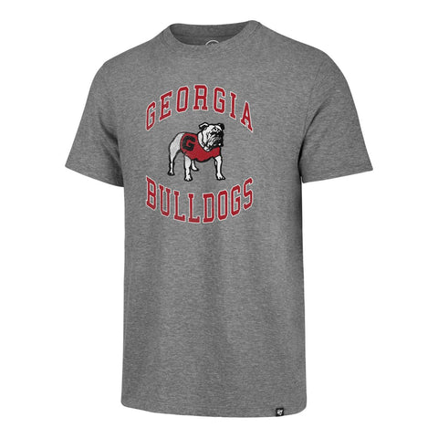 "Georgia Bulldogs '47 Vintage Gray ""Knockaround Match"" Triblend T-Shirt"