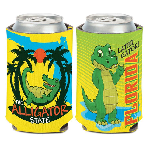 "Florida ""The Alligator State"" Later Gator WinCraft Neoprene Drink Can Cooler"
