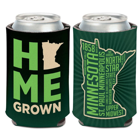 "Minnesota ""North Star State"" Home  Grown WinCraft Neoprene Drink Can Cooler"