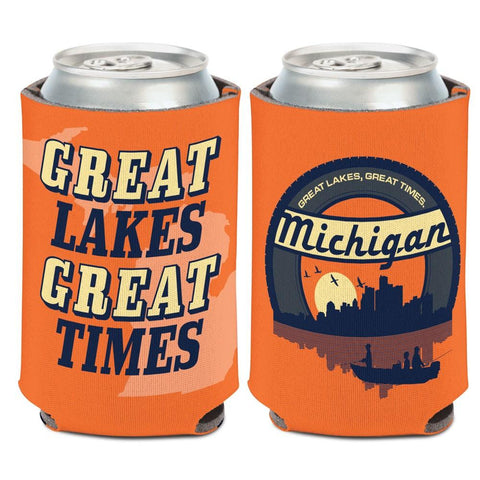 "Shop Michigan ""Great Lakes Great Times"" WinCraft Neoprene Drink Can Cooler"