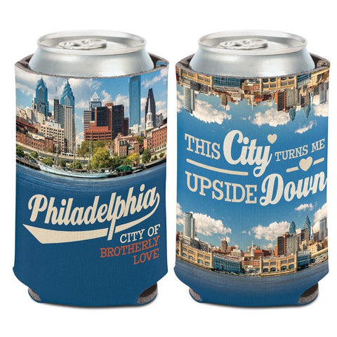 "Philadelphia Pennsylvania ""City of Brotherly Love"" WinCraft Drink Can Cooler"