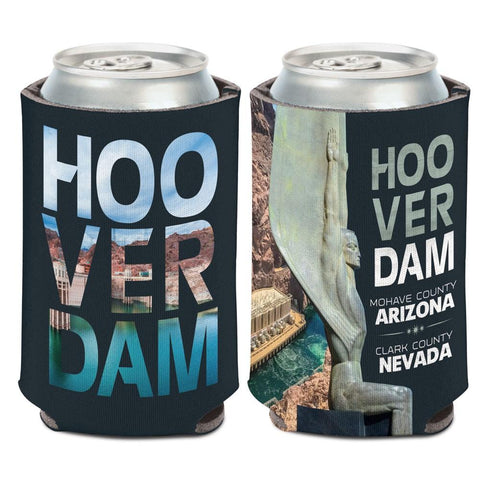 Hoover Dam Mohave County Arizona Clark County Nevada WinCraft Drink Can Cooler