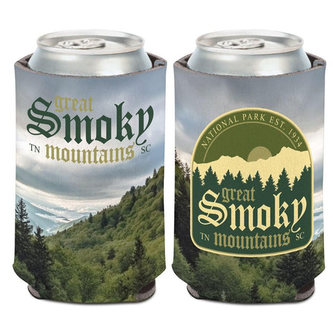 Great Smoky Mountains National Park Tennessee WinCraft Neoprene Drink Can Cooler