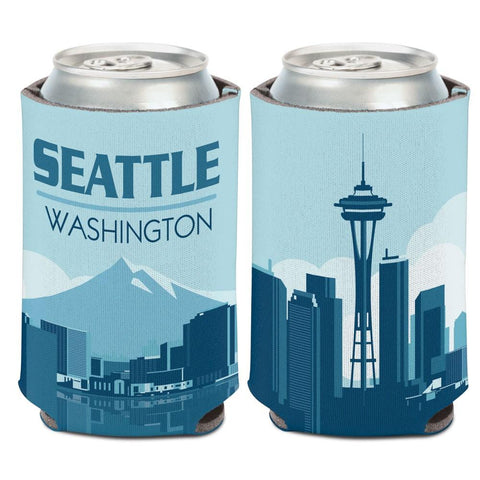 Seattle Washington Space Needle WinCraft Neoprene Drink Can Cooler