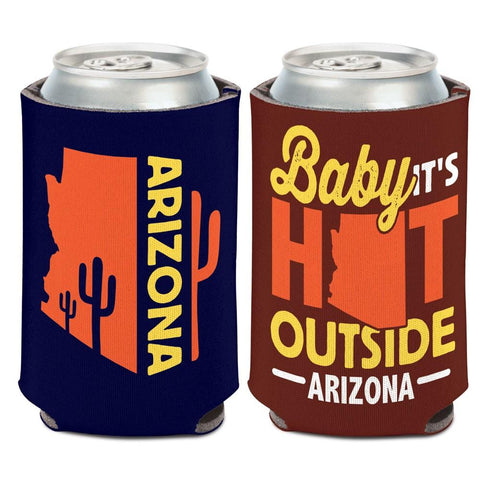 "Arizona ""Baby It's Hot Outside"" WinCraft Neoprene Drink Can Cooler"