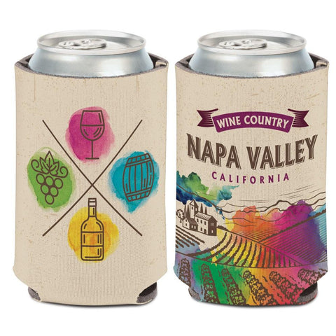"Napa Valley California ""Wine Country"" WinCraft Neoprene Drink Can Cooler"