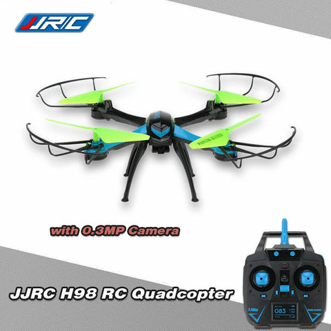 JJR/C H98 2.4G 4CH 6-Axis Gyro RC Quadcopter 3D Flip Auto-Return CF Mode Fu T8M9