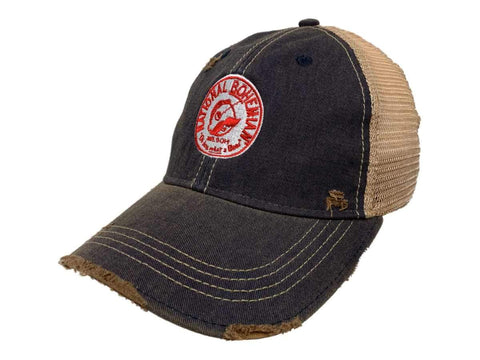 National Bohemian Oh Boy What a Beer Retro Brand Distressed Mesh Adj. Hat Cap