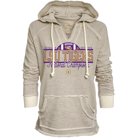 LSU Tigers 2019-2020 CFP National Champions WOMEN'S Hoodie Sweatshirt