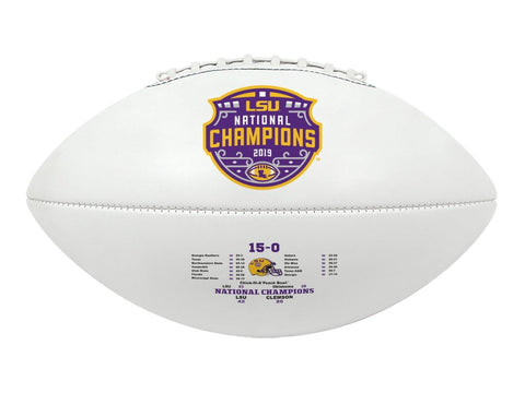 LSU Tigers 2019-2020 CFP National Champions Game Score Football