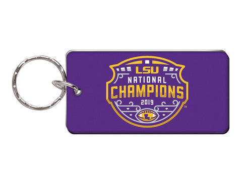 LSU Tigers 2019-2020 CFP National Champions WinCraft Acrylic Keychain - Sporting Up