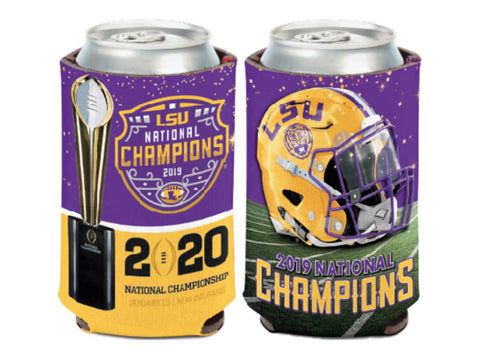 LSU Tigers 2019-2020 CFP National Champions WinCraft Drink Can Cooler