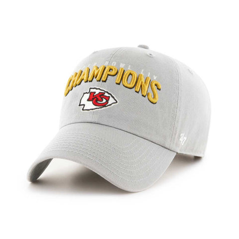 buying now order online good looking Kansas City Chiefs 2020 Super Bowl LIV Champions '47 Gray