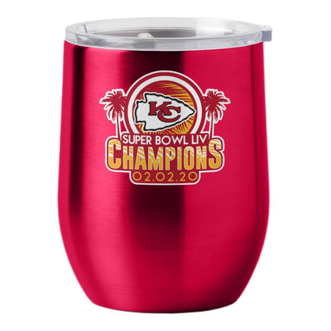 Kansas City Chiefs 2020 Super Bowl LIV Champions Stainless Steel Wine Tumbler
