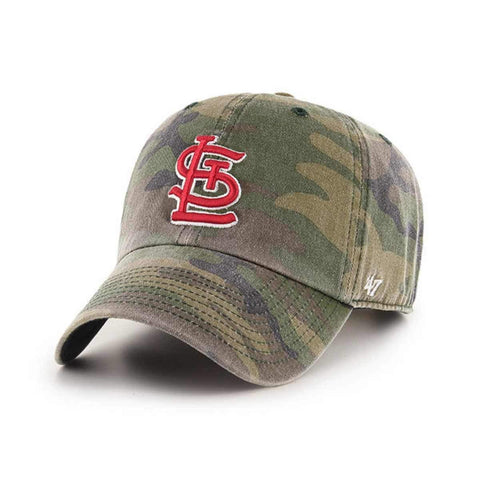 St. Louis Cardinals '47 Camouflage Clean Up Adj. Strapback Slouch Hat Cap