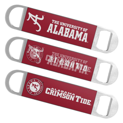 Shop Alabama Crimson Tide Boelter Brands Hologram Logo Metal Bottle Opener Bar Key - Sporting Up