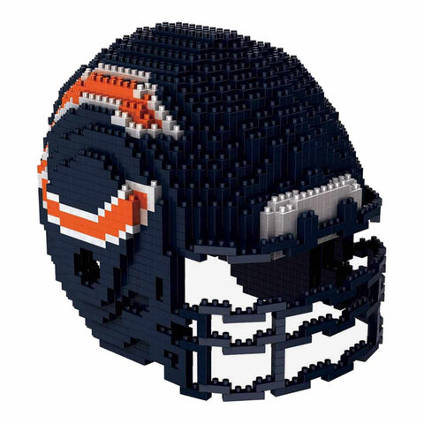 Chicago Bears NFL Forever Collectibles BRXLZ 3-D Helmet Construction Toy - Sporting Up