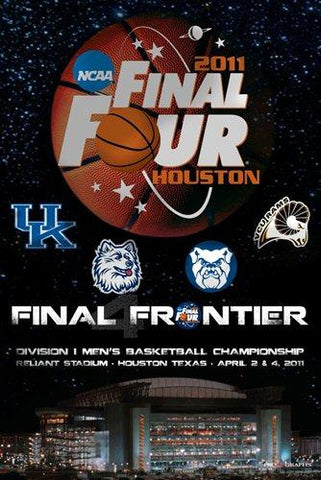 "2011 NCAA Final Four College Basketball Final Frontier Print Poster 24""x36"""
