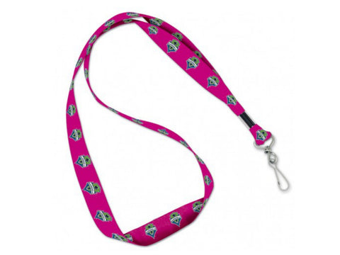 Shop Seattle Sounders FC MLS WinCraft Sports Pink Womens Keychain Lanyard