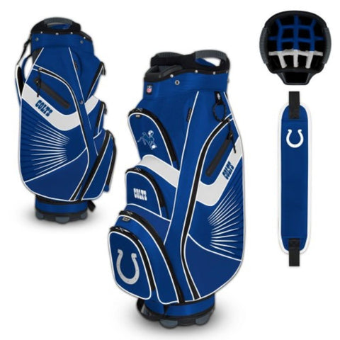 "Indianapolis Colts WinCraft ""The Bucket II"" 14-Way Cooler Cart Golf Bag"