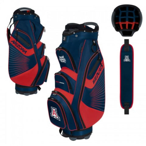 "Arizona Wildcats WinCraft ""The Bucket II"" 14-Way Cooler Cart Golf Bag"
