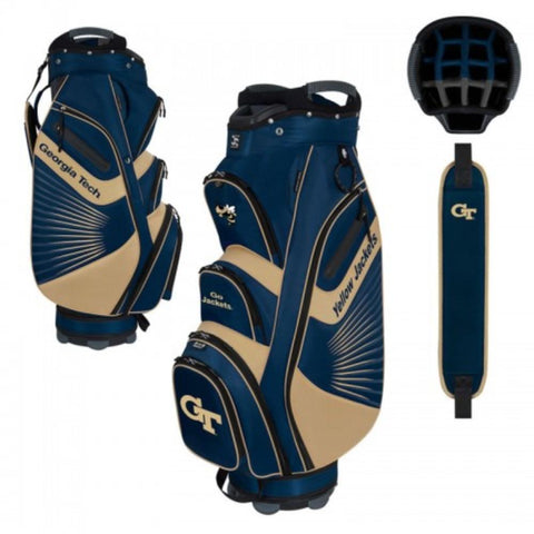 "Georgia Tech Yellow Jackets WinCraft ""The Bucket II"" 14-Way Cooler Cart Golf Bag"