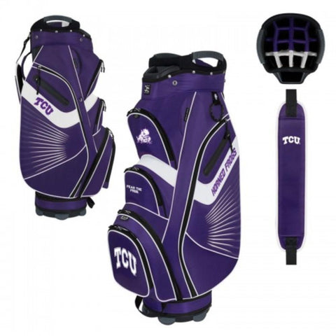 "TCU Horned Frogs WinCraft ""The Bucket II"" 14-Way Cooler Cart Golf Bag"