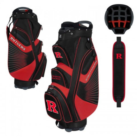 "Rutgers Scarlet Knights WinCraft ""The Bucket II"" 14-Way Cooler Cart Golf Bag"