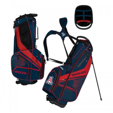 "Arizona Wildcats WinCraft ""Grid Iron III"" 6-Way Stand Golf Bag"