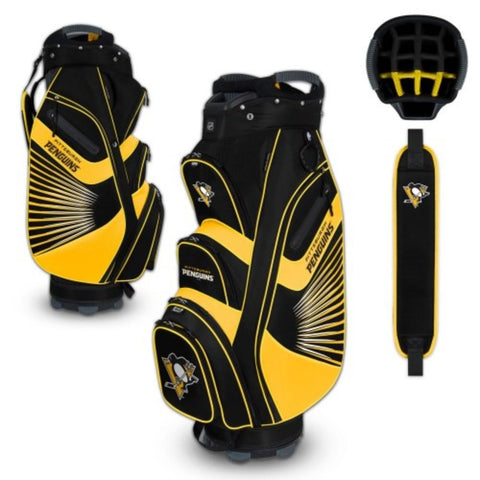 "Pittsburgh Penguins WinCraft ""The Bucket II"" 14-Way Cooler Cart Golf Bag"