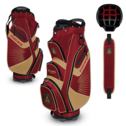 "Atlanta United FC WinCraft ""The Bucket II"" 14-Way Cooler Cart Golf Bag"