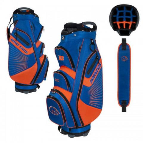 "Boise State Broncos WinCraft ""The Bucket II"" 14-Way Cooler Cart Golf Bag"